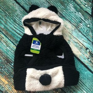 Dogs Panda Costume- Available In Various Sizes